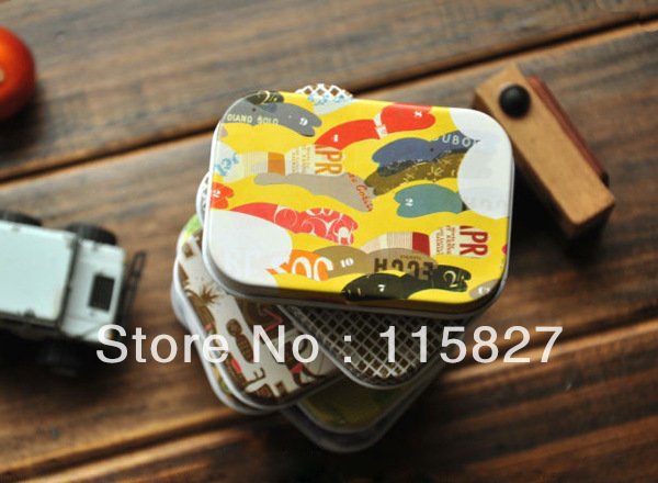 Min order$20(mixed items)Storage Can coin box mini iron box(China (Mainland))