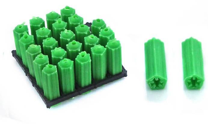 Rubber Screw Caps Screw Stopper Green Rubber