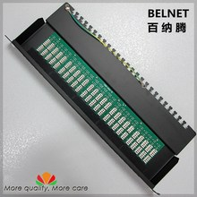 Buy 50-ports telephone voice patch panel telecommunication engineering grade 19-inch 1U PCB type RJ11 patch panel distribution frame for $85.00 in AliExpress store
