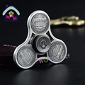 New Styles High Quality Alloy EDC Coin Spinner Fidgets Hand Spinner For Autism and ADHD Rotation