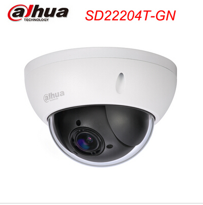 Dahua SD22204T-GN New 1080p(full-hd) 2mp full hd 4x optical 16xdigital network ptz ceiling mini dome IP camera(China (Mainland))