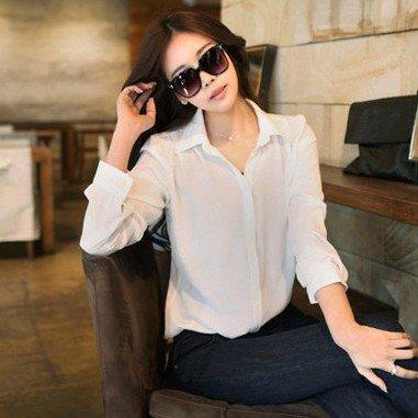 2012 New,women Casual Long Sleeve Blouse,women's Fashion Sweet Chiffon Slim Shirts Top Blouse,flower Girl's Hot Shirts,x2383(China (Mainland))