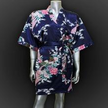 women's robe silk bathrobe Bride wedding satin nightgown women pajamas pijama nightdress bath robes kimono  Q909(China (Mainland))
