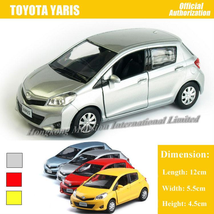 136 Car Model For TOYOTA Yaris (1)