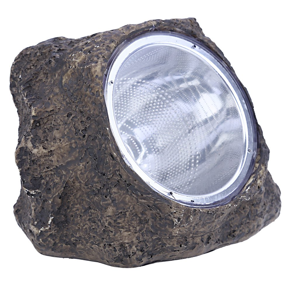 2016 High Quality 0.08W 3 LEDs 60LM Stone Style Solar Power Resin Garden Yard Decorative Light Solar Lamp Energy Saving(China (Mainland))
