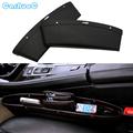 2pc Black Coming Leather PU Car Storage Organizer Car Bag Box Auto Seat Gap Slit Pocket