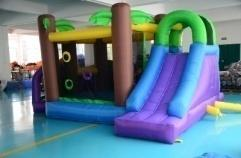 YARD Commercial Grade Inflatable Bounce House for Rent for Kids Birthday Party Jumping Castle Slide(China (Mainland))