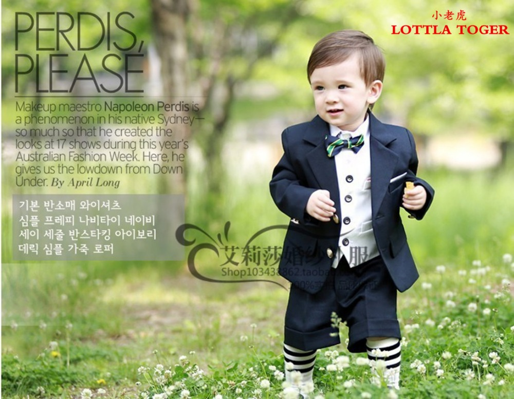 Boys suits for weddings Kids Prom Suits Black Wedding Suits for Boys tuxedo Big Children Clothing Set Boy Formal Classic Costume