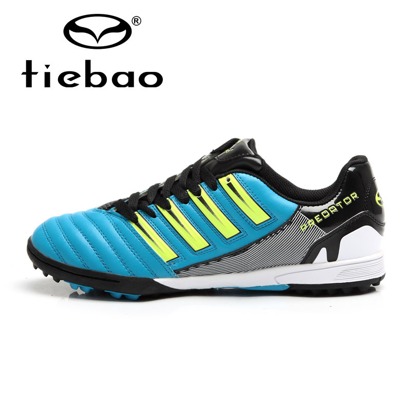 TIEBAO Professional Outdoor Soccer Shoes TF Turf Rubber Sole Football Shoes Men Women Athletic ...