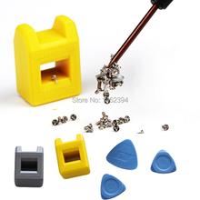1 Unidades gator nueva machine Magnetize desmagnetice grip destornillador puntas de tornillos reparación magnética herramientas para móviles ferramentas