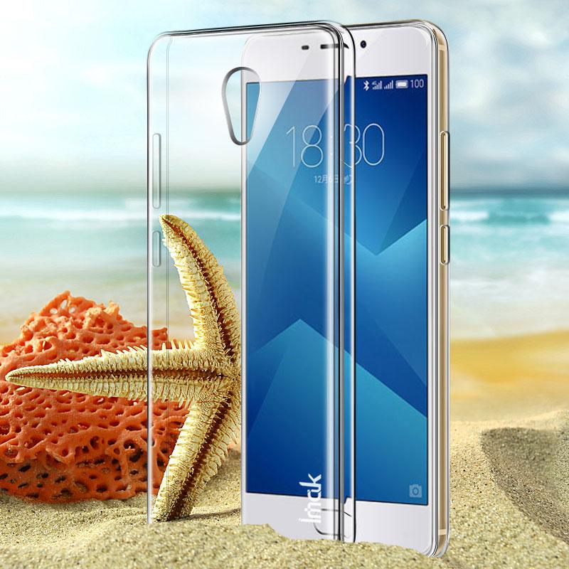 """Case Meizu M5 Note IMAK Clear Crystal shell Hard case Meizu M5 Note Case Transparent back cover Meizu Note5 5.5"""" Coque Co. Ltd)"""