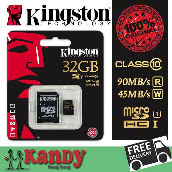 SALE Kingston micro sd 64gb uhs-I gopro 4K U1 go pro sdhc sdxc card memory card class 10 uhs-I 1 cartao de wholesale tarjeta lot(China (Mainland))