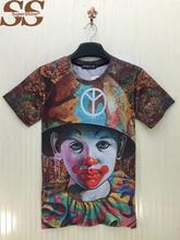 2015 Kawaii 3D T Shirt Women Tops For Men T Shirt Shirts Tee Tshirt Short Feminino