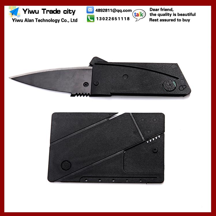 0 9 1pcs Credit Card Knife Folding Blade Knife Pocket Mini Wallet Camping Outdoor Pocket