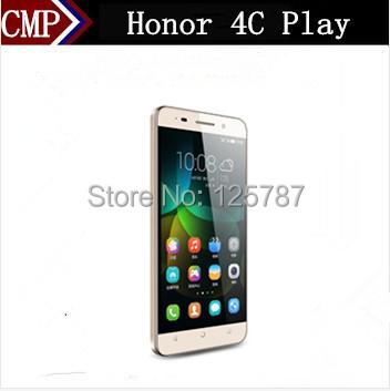 "Original HuaWei Honor 4C Play 4G FDD LTE Mobile Phone Kirin 620 Octa Core Android 4.4 5.0"" IPS 1280X720 2GB RAM 16GB ROM 13.0MP(China (Mainland))"