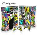 Stickerbumb Custom Sticker For Microsoft Xbox 360 Slim Console 2 Pads For X box 360slim Controller