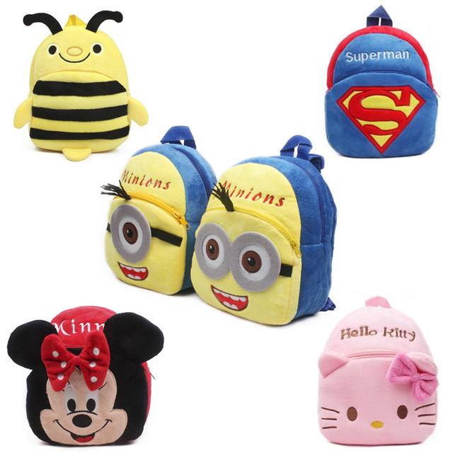 Toys For Boys Kindergarten : New cute cartoon kids plush backpack toys mini schoolbag