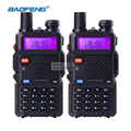 2pcs BaoFeng UV 5R Walkie Talkie Dual Band VHF UHF136 174Mhz 400 520Mhz Portable CB Ham
