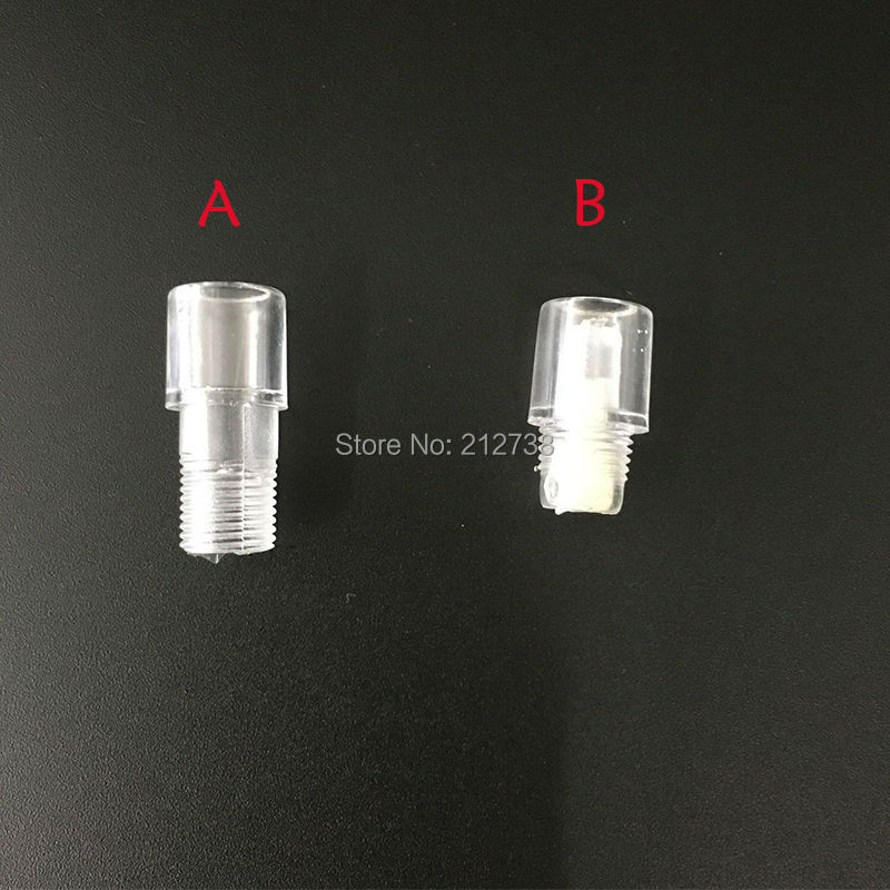 Free Shipping 10pcs tattoo machine head crystal eyebrow tattoo pen cap glass head crystal eyebrow tattoo machine accessories