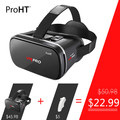 ProHT VR Pro IIII 3D Glasses Type Google cardboard VR Virtual Reality 360 Video with