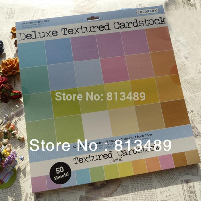 Free Shipping Textured Bulk Cardstock 25 colors Scrapbook Pink Paper Wholesale Supplier Card Stock Wedding Gift Inviation Paper(China (Mainland))