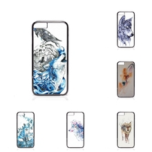 Bags Cases watercolor wolf Oppo Fine 7 R7 R9 plus N1 Mini BlackBerry 8520 9700 9900 Z10 Q10 - My Phone Factory store