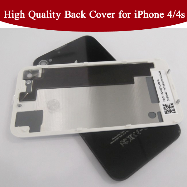 100% Guarantee iPhone 4G 4S CDMA Back Glass Cover Rear Housing Assembly - Repair Parts Experts store