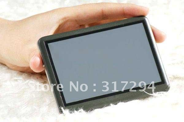 "New arrive 8GB 4.3"" Touch MP3 MP4 MP5 AV-out FM Video Player T8 Christmas gift FREE SHIPPING"