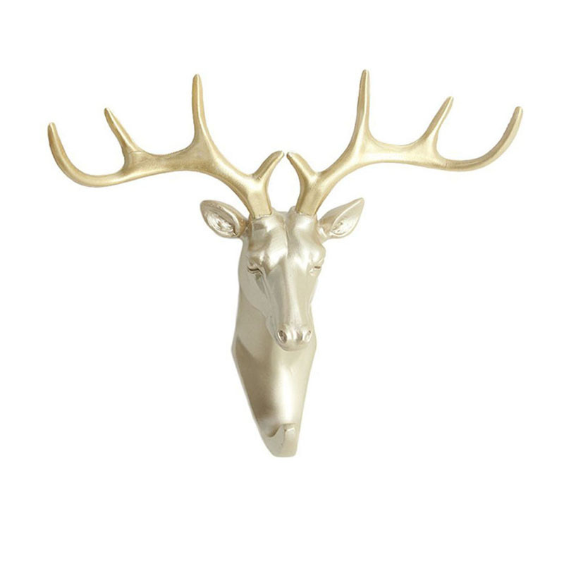 New-ELK-Animals-decoration-hook-fashion-three-dimensional-resin-hooks-creative-home-accessories-robe-hook-living