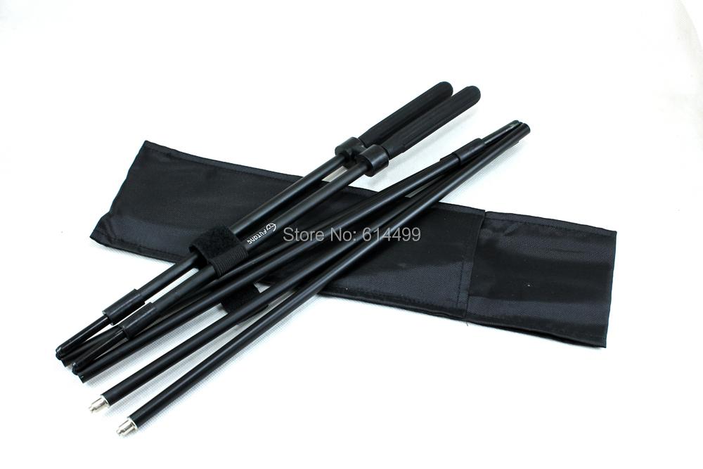 Fortune Hammers Safari Collapsible Shock Corded Shooting Stick Stix Bipod Gun Pod Rest