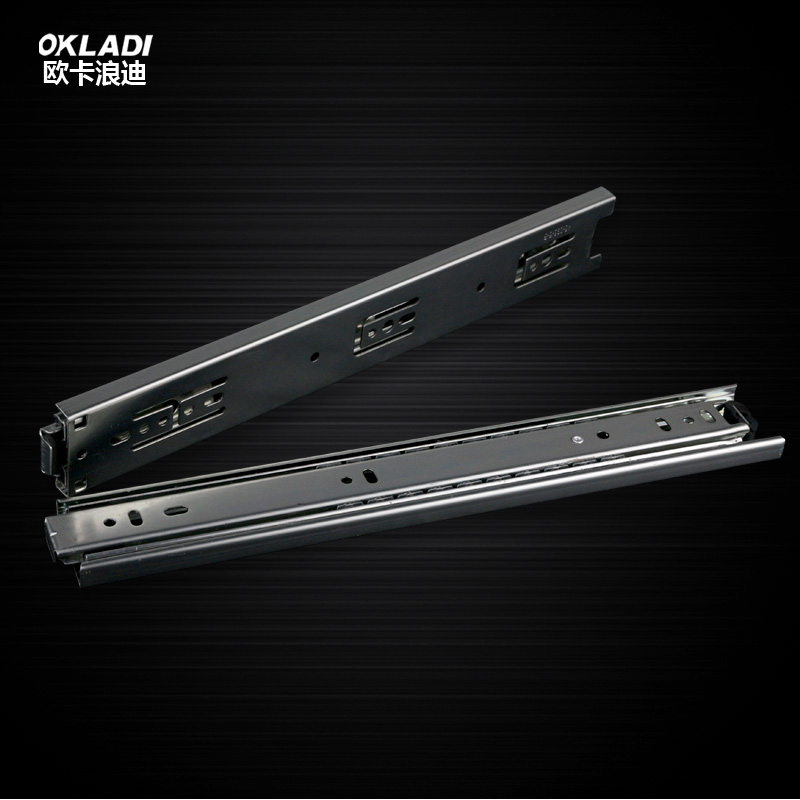 Oka drawer track rails furniture hardware accessories slide rails computer desk keyboard tray three rail