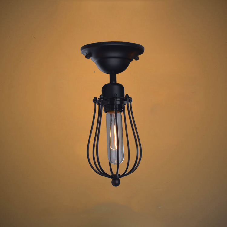 Retro loft style edison industrial vintage ceiling lamp for Old looking light fixtures