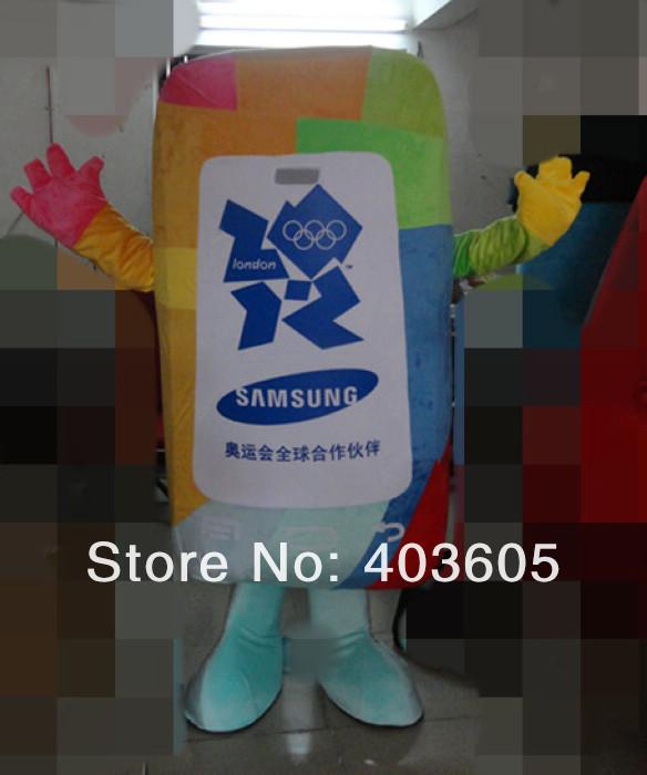 2013 New ! EVA Material Samsung phone costumes Mobile Phone Mascot Costume Cellphone - Shenzhen Childlike Cartoon Costumes Factory store