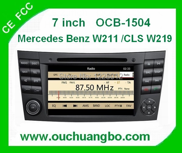Car stereo for mercedes benz w211 cls w219 with gps for How to use mercedes benz navigation system