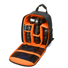 Video Photo Digital Camera Shoulders Padded Backpack Bag Case Waterproof Shockproof Small Bags for Canon Nikon DSLR IP-00(China (Mainland))
