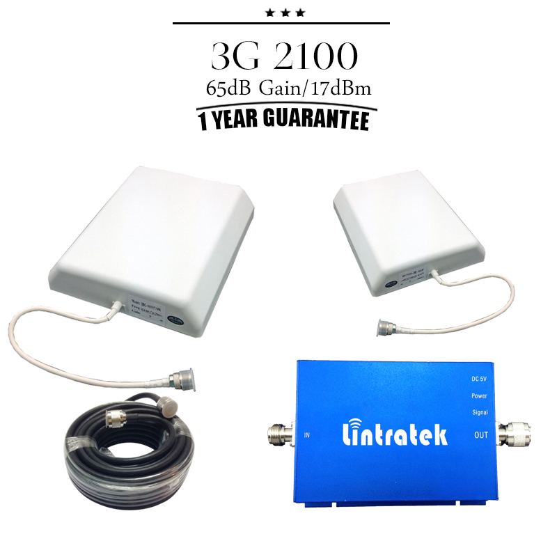 3G Indoor Repeater HSPDA 2100mhz Booster 3G Repeater Kit Mobile Phone Amplifier 2100(China (Mainland))