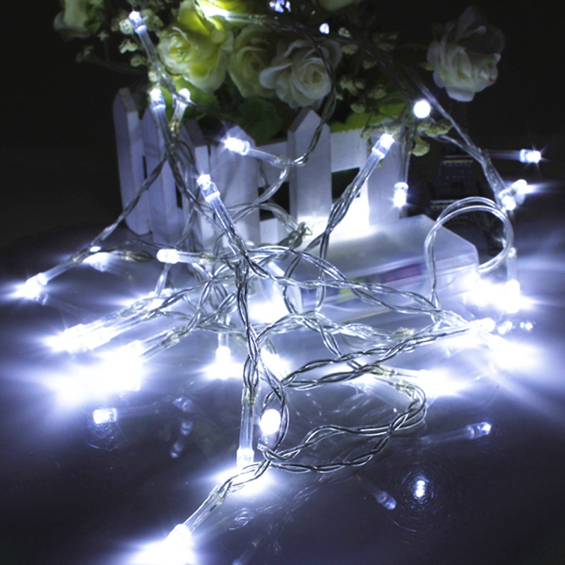 1M 10 LED Battery Power Christmas Xmas Wedding Party Garden String Fairy Colorful Strip Lights Lamp Wholesale Price(China (Mainland))