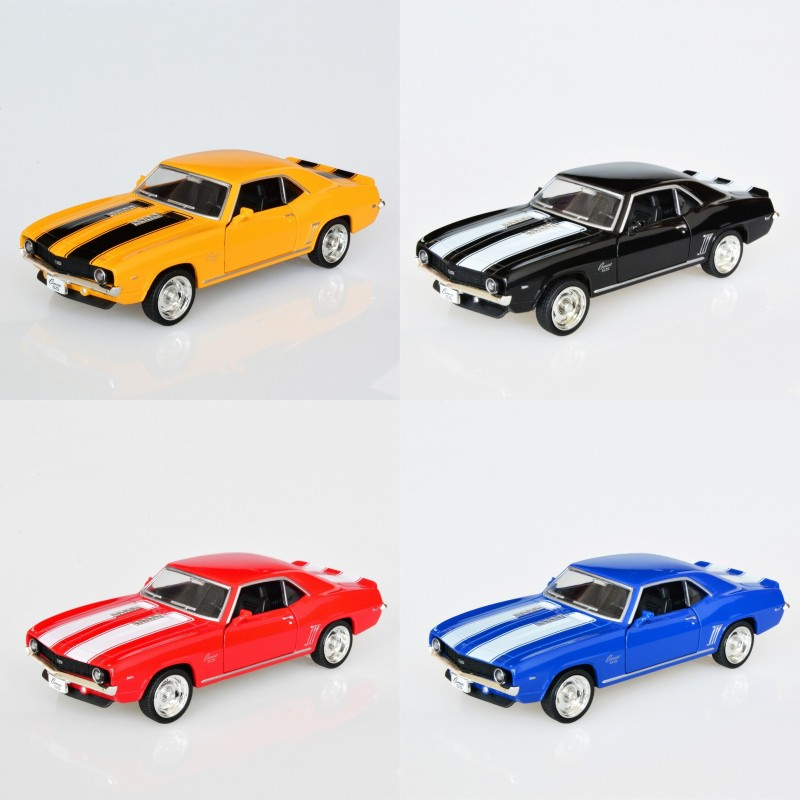4 IN 1 UNI-FORTUNE Camaro SS 1969 1/36 alloy models model car Kids Toys Cars pull back car childrens toys car Kids toy<br><br>Aliexpress