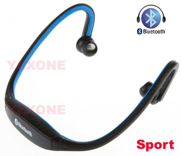 Sport Wireless Bluetooth stereo Headset Earphone Headphone linsten to music mic handsfree for PHONE IPHONE SAMSUNG HTC TABLET PC