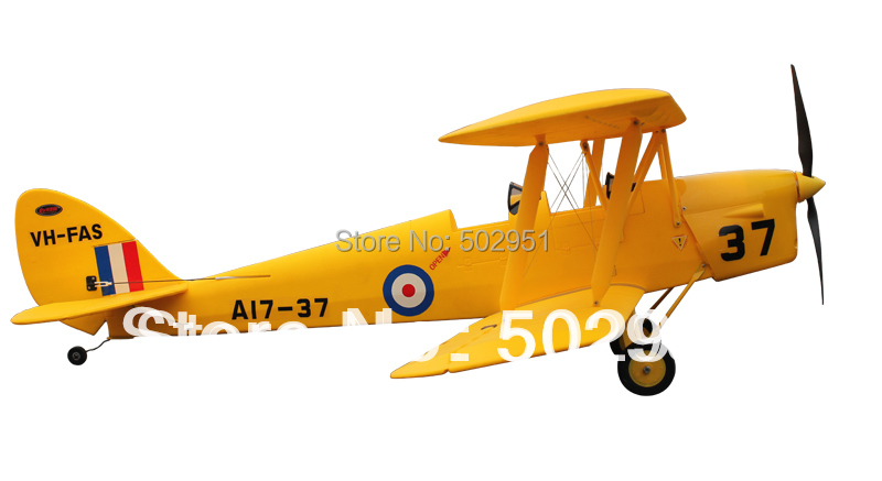 DH-82 Tiger Moth 1270mm Radio control model PNP and KIT Dynam(China (Mainland))