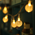 5M 28 LED Crystal Bubble Balls LED Lamp String Lights Fairy Decorative lights for Christmas wedding