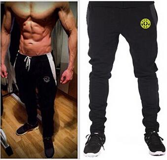 2015 New Fashion Sports Tracksuit Bottoms Golds Gym Mens Pants Jogging Sweatpants Trousers Calca Masculina Pantalon Homme(China (Mainland))