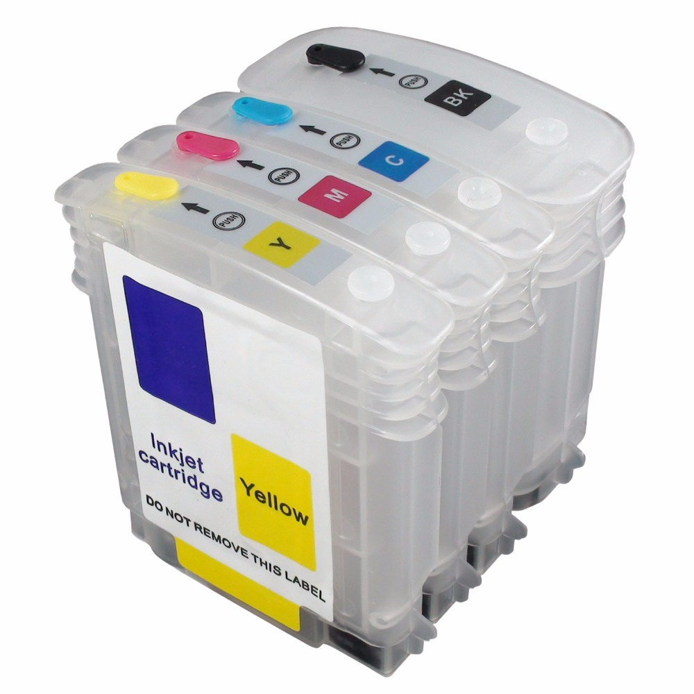 CEYE Refillable Ink Cartridges Kit For HP10# 11# Color Inkjet CP1700/D/PS Officejet 9100 9110 9120 9130 HP1000 4PCS(China (Mainland))