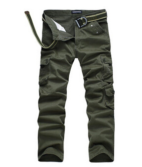 2014 new casual style men' long pants loose mid 7 pockets large size 29-36 men 2 colors J072009 - GREEN SHINE STORE store