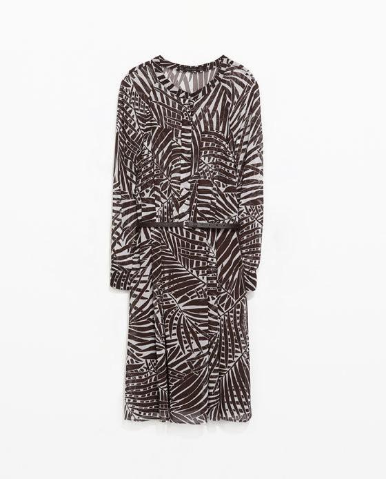 взлетно-посадочная полоса платья мода сыпучих женщин Европы, vestidos старинные печати до колен геометрические Платья повседневные платья с ленты ремня