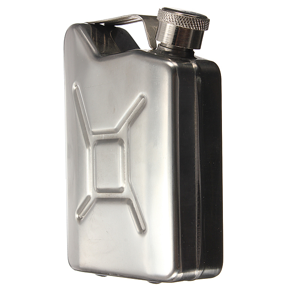 5 oz Jerry Can Liquor Hip Flask Stainless Steel Fuel Petrol Gasoline Stylish Funnel(China (Mainland))