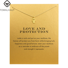 Buy Hot Sale Sparkling Hand Pendant necklace Clavicle Chains necklace Statement Necklace Women FOMALHAUT Jewelry for $1.09 in AliExpress store