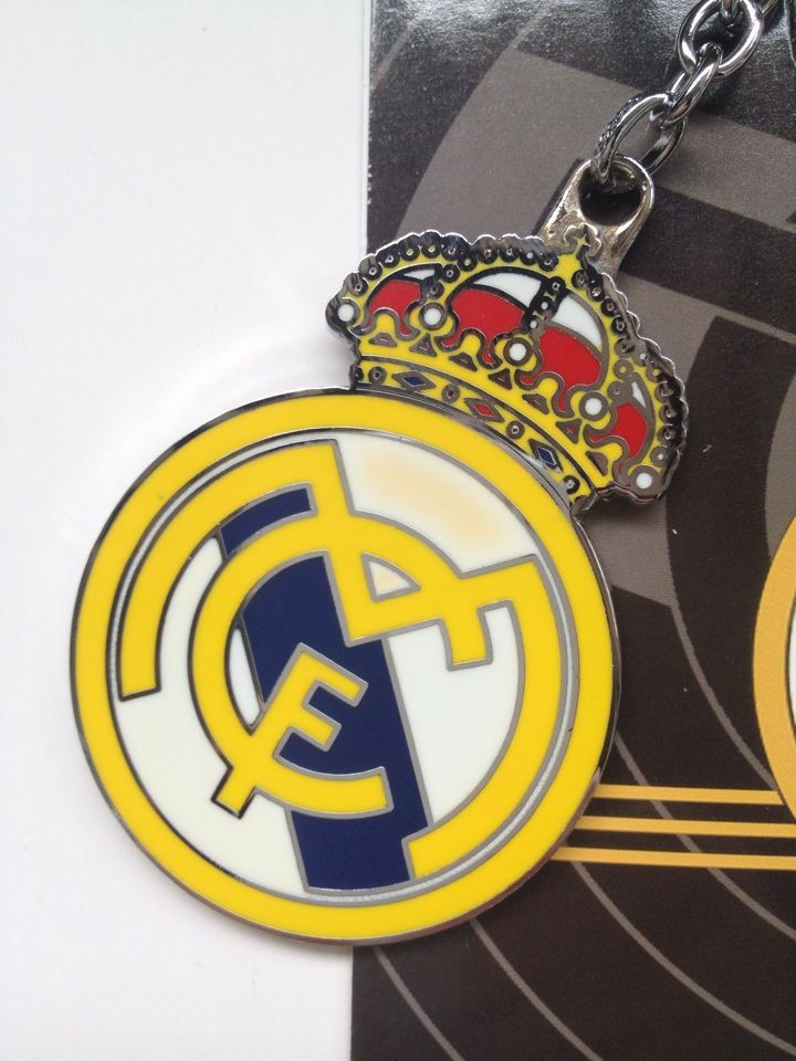 Rare Spain sport Official Real Madrid C.F. Football Club key ring chain(China (Mainland))