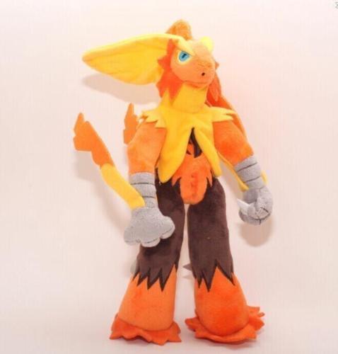 "Pokemon Center XY Mega 10"" Blaziken Stuffed Animal Plush Soft Doll Stuffed Animal Soft plush Doll(China (Mainland))"