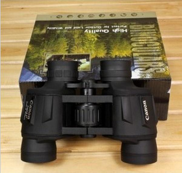 2015 black army green canon binoculars telescope 20x50 HD powerview porro prism none night vision sale - TOP10 Binoculars Telescope store